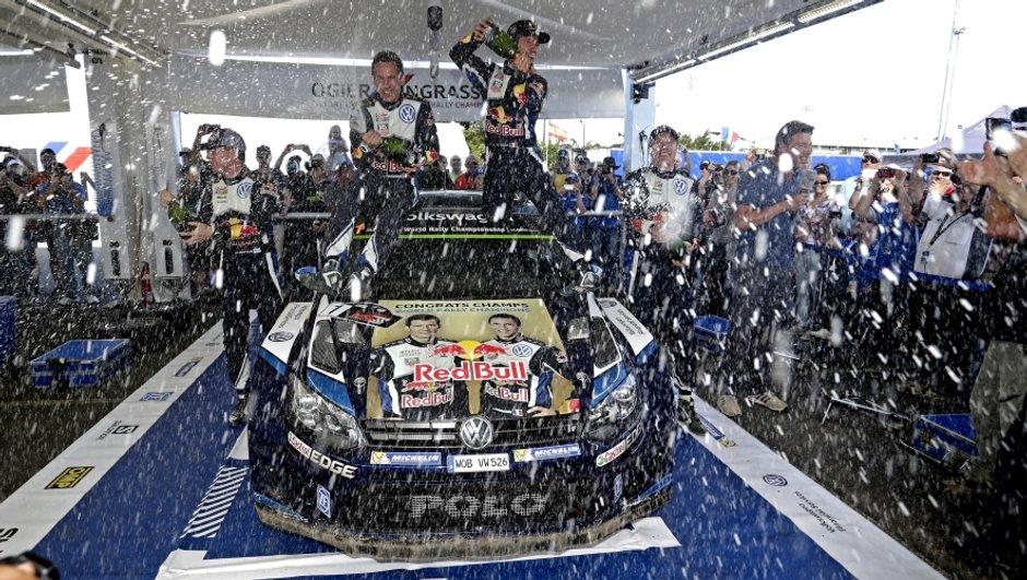 WRC – Australie 2015 : Ogier sacré Champion du Monde