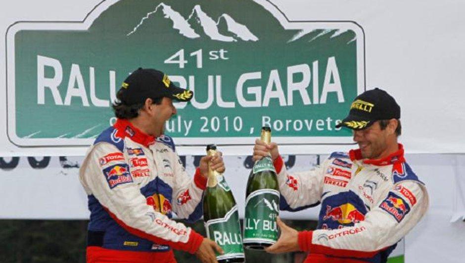 WRC Bulgarie 2010 : Loeb remporte sa 4è victoire de la saison