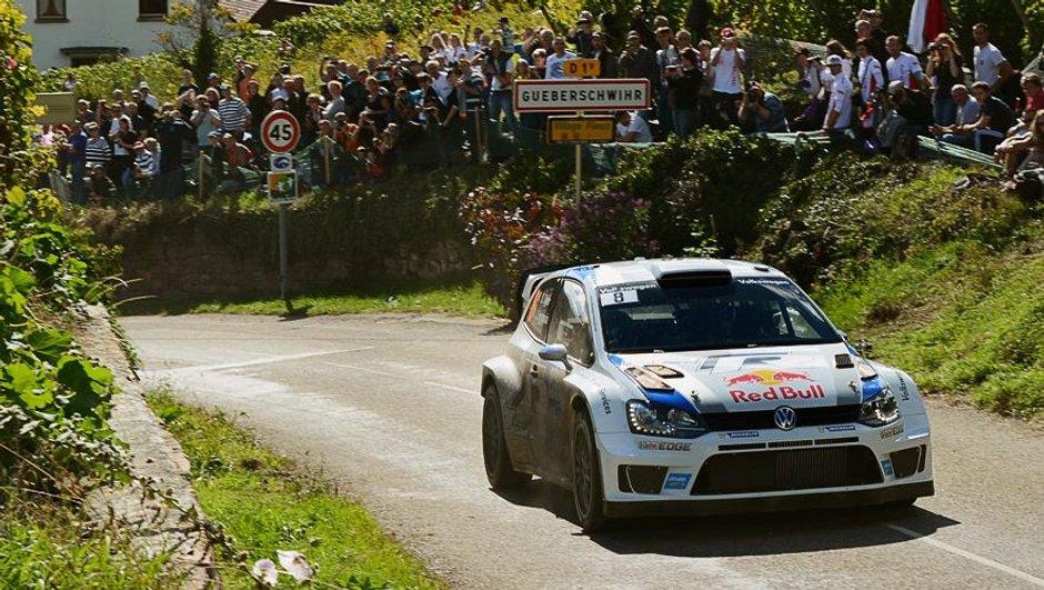 WRC - Rallye de France-Alsace 2013, suite et fin: Ogier triomphe en Champion