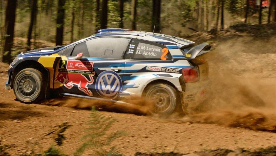 WRC - Portugal 2015, ES13: Ogier à l'assaut de Latvala