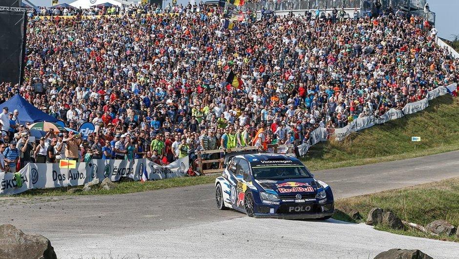 WRC – Rallye d'Allemagne 2015 : Ogier creuse l'écart après 17 spéciales