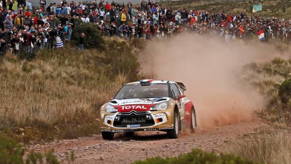 WRC - Rallye d'Argentine : erreur d'Ogier, Loeb nouveau leader !