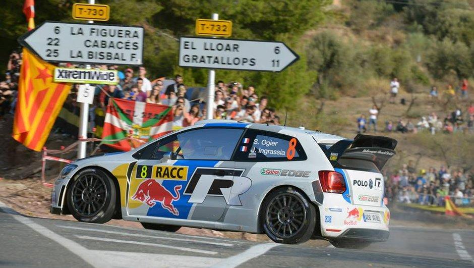 WRC - Rallye de Catalogne 2013: Ogier accentue son avance dans l'ES15 et triomphe