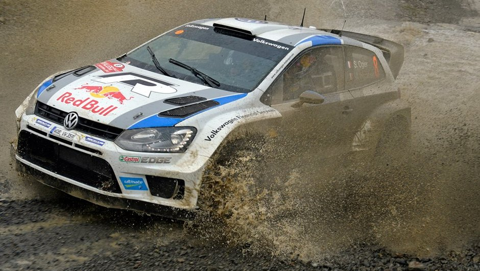 WRC - Rallye de Grande-Bretagne 2013 : Ogier termine la 3e journée en tête