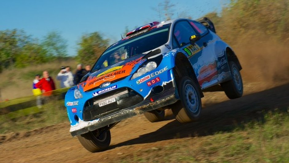 WRC - Rallye Espagne Jour 1 : Ostberg devance Tänak