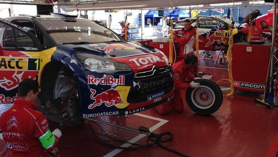 WRC - Rallye d'Espagne : Loeb en tête des qualifications