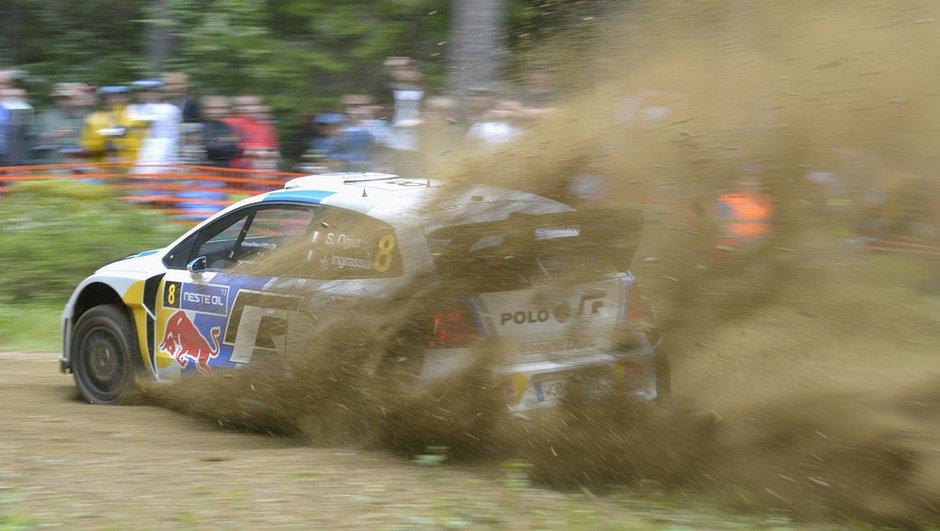 WRC - Rallye de Finlande 2013 - Spéciale 8 : Ogier reprend la tête