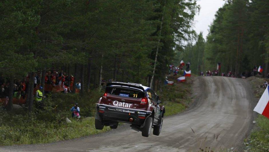 WRC - Rallye de Finlande 2013 : Neuville seul leader après la spéciale 5