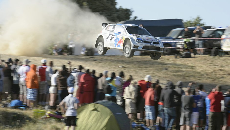 WRC - Rallye de Sardaigne : Ogier en tête vendredi midi