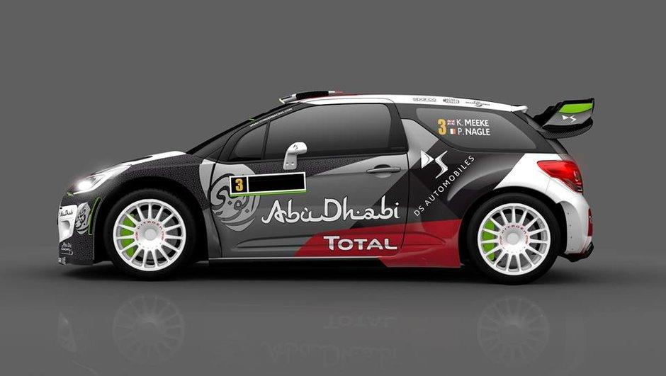 WRC 2015 : nouvelles couleurs pour la DS3