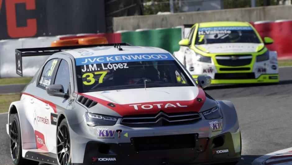 WTCC - Japon 2014 : José Maria Lopez en pole