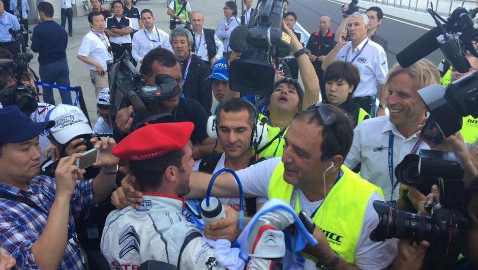 WTCC - Japon 2014 : José Maria Lopez remporte le titre de Champion du Monde