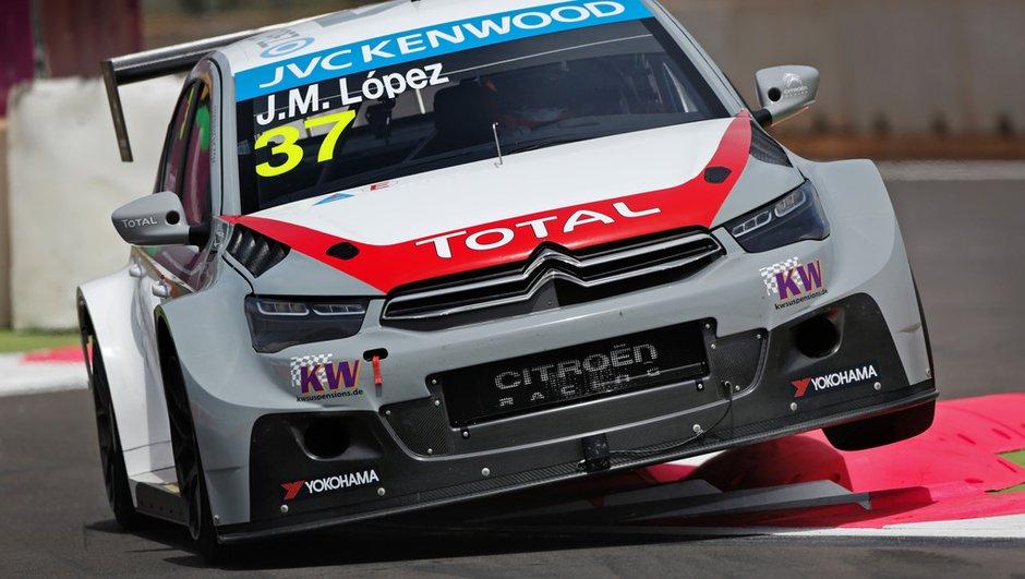 WTCC 2014 - Maroc : Lopez en pole devant Loeb