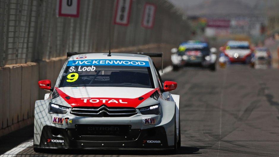 WTCC 2014 - Maroc : Un premier succès pour Loeb et Citroën