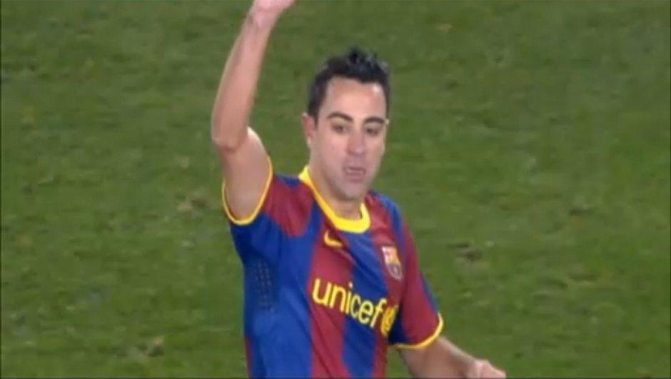 Xavi, joueur le plus capé du Barça !