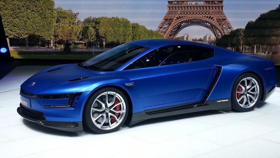 Mondial de l'Automobile 2014 : le concept-car Volkswagen XL Sport au coeur de moto