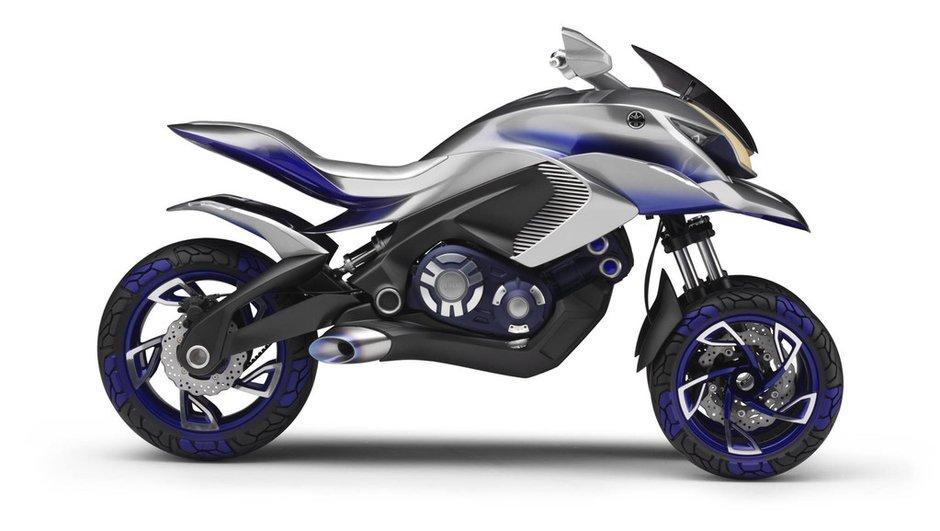 Yamaha Concept 01GEN 2014 : le 3-roues du futur exposé à l'Intermot