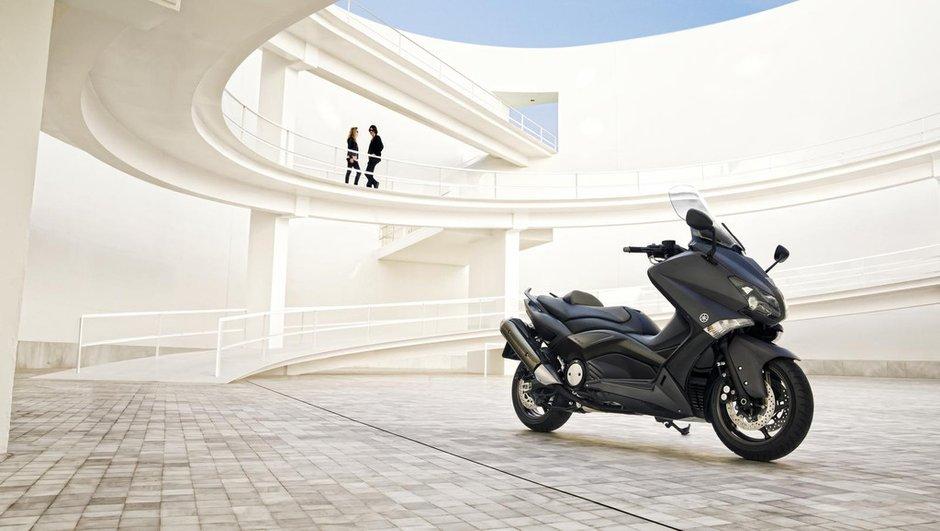 Salon de Milan : nouveau Yamaha Tmax 2012