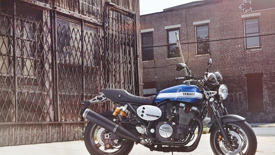 Yamaha XJR1300 2015 et MT-07 Moto Cage : deux modèles sportifs à l'Intermot