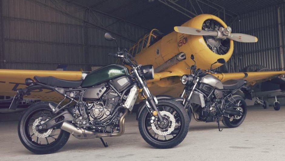 Nouvelle Yamaha XSR 700 : infos, photos et vidéo