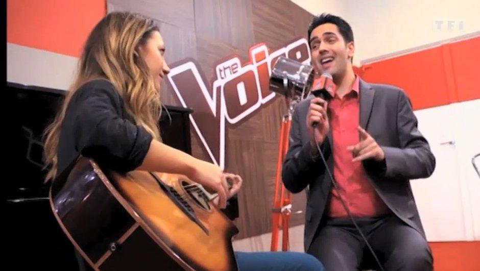 The Voice: Quand Yoann Fréget chante Lennon...