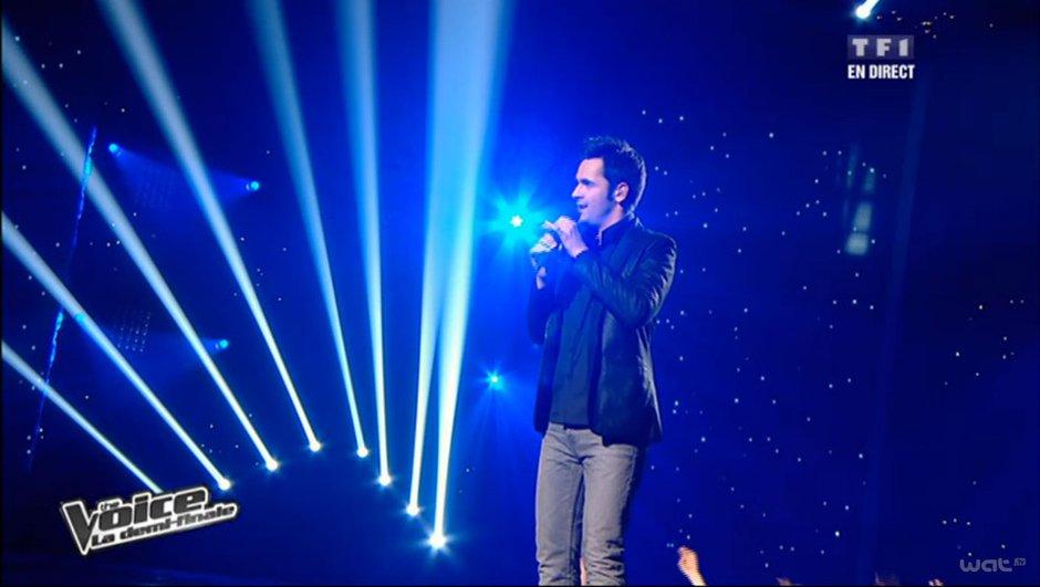 The Voice-Vidéo : Yoann Fréget marqué par son duo avec Emmanuel Djob