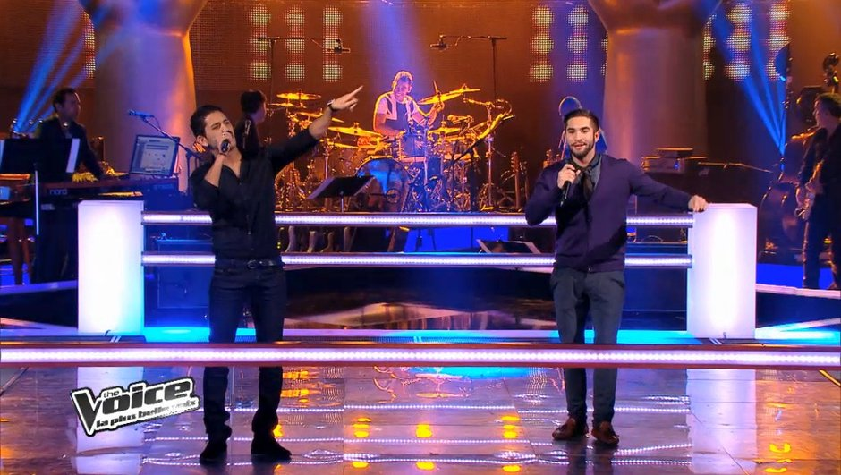 """The Voice 3 - Battle Youness vs Kendji : raï vs gipsy sur """"Tous les mêmes"""" de Stromae"""