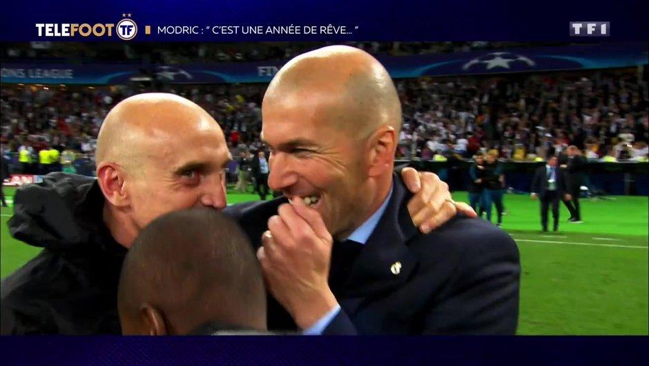 "[EXCLU Téléfoot – 9/12] - Modric : ""Zidane m'a énormément conseillé"""