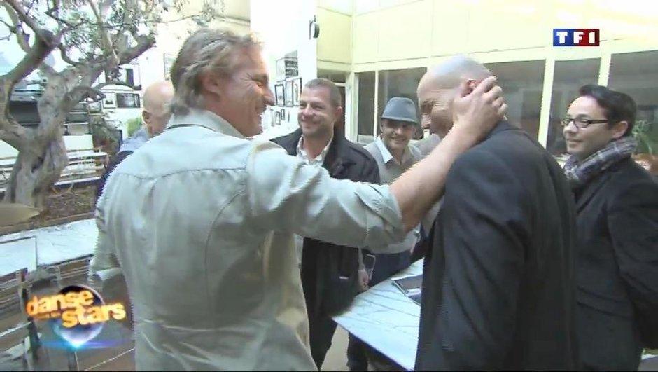 Zidane fait une visite surprise sur Danse avec les stars