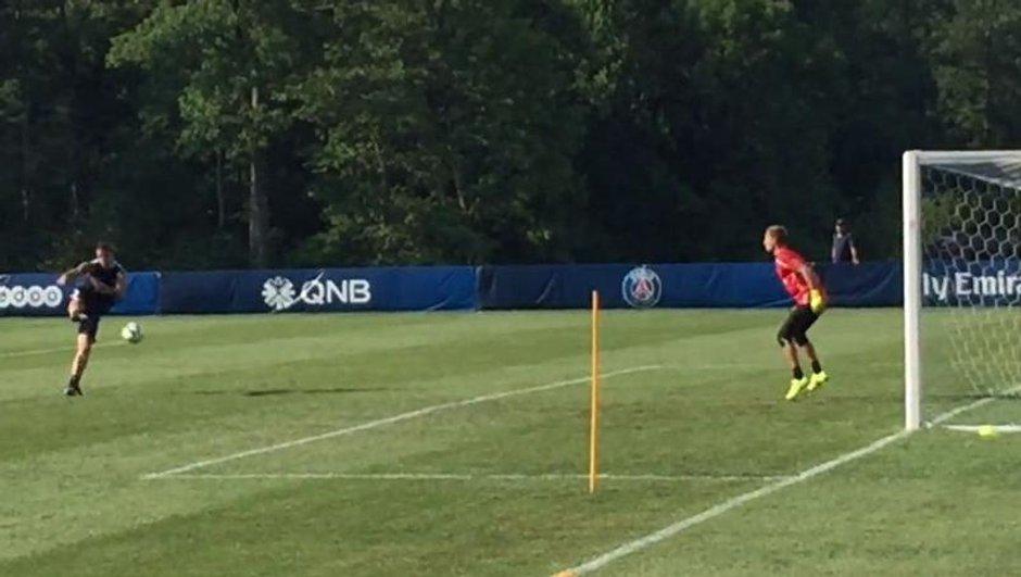 Vidéo insolite : Quand Zlatan Ibrahimovic accueille Kevin Trapp à sa manière